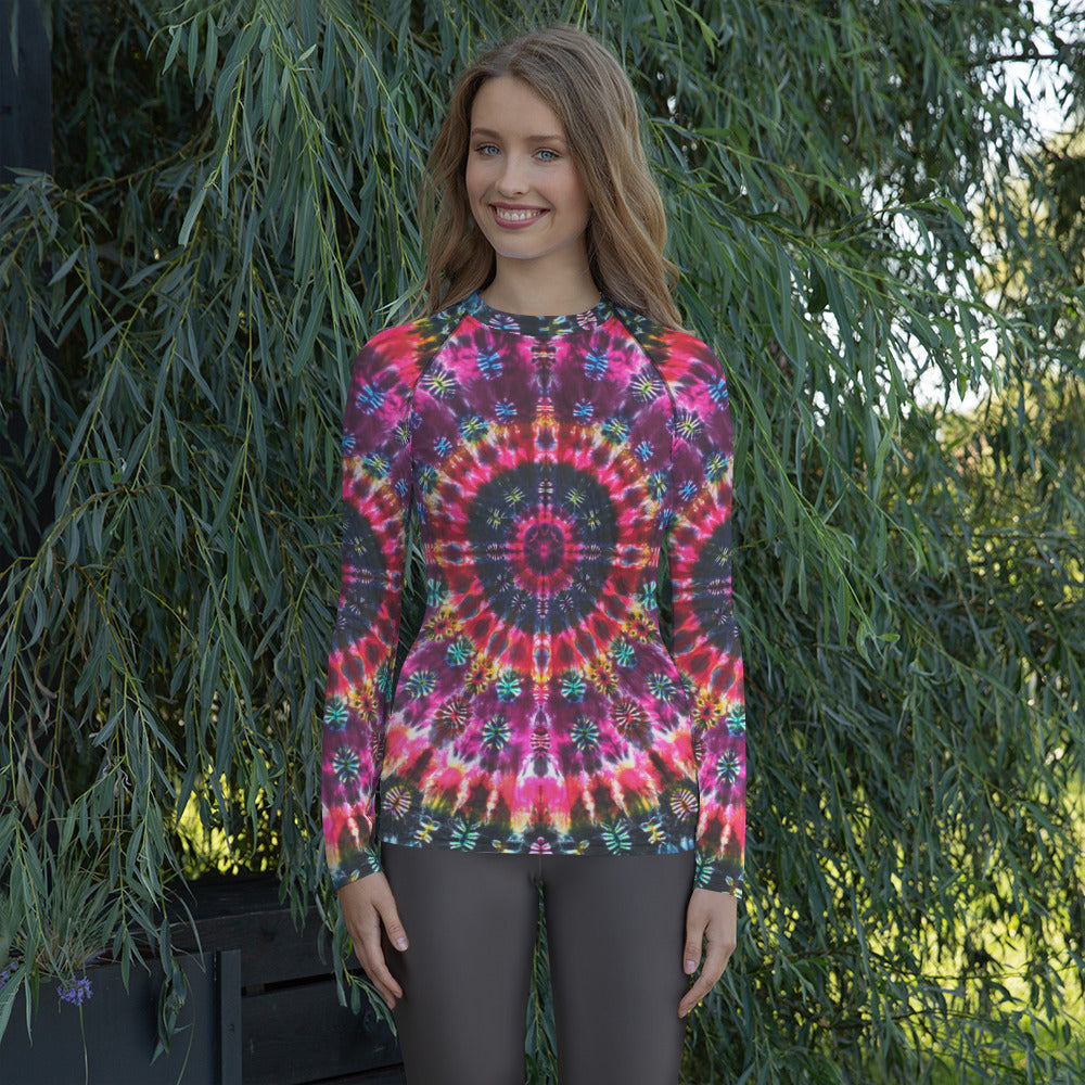'Inside Gaia' Women's Rash Guard