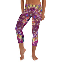 Load image into Gallery viewer, Fall Phantasm' Capri Leggings