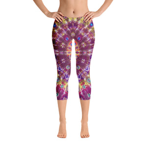 Fall Phantasm' Capri Leggings