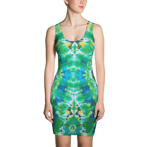 'Emerald Isles' Sublimation Cut & Sew Dress