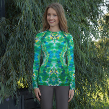Load image into Gallery viewer, 'Emerald Isles' Women's Rash Guard