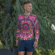 Load image into Gallery viewer, Inside Gaia' Art Print Men's Rash Guard