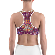 Load image into Gallery viewer, 'Fall Phantasm' Sports bra