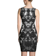 Load image into Gallery viewer, 'Gargoyle Guardian' B&W Sublimation Cut & Sew Dress