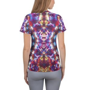 'Gargoyle Guardian' All-Over Print Women's Athletic T-shirt