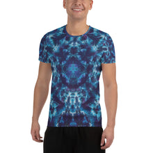 Load image into Gallery viewer, 'Heavenly Host' All-Over Print Men's Athletic T-shirt (Slim Fit)