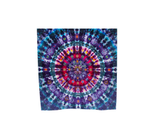 Load image into Gallery viewer, Mandala Scarf 100% Natural Silk #5991 - 'Neptune's Flower'