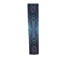 Load image into Gallery viewer, Long Scarf 100% Natural Silk #5742 - 'Psychadelic Python'