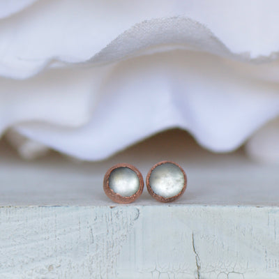 White Moonstone Earrings | Ready to Ship,LUNAandLORES.
