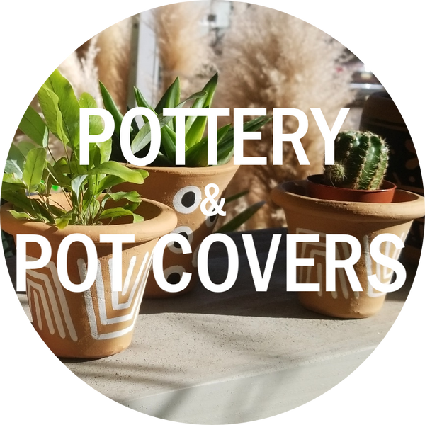 Pottery & pot covers