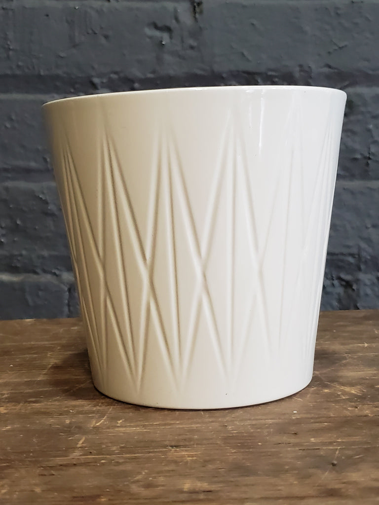 Visby ceramic pot cream