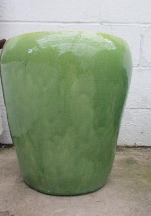 Ellemere planter in lime green
