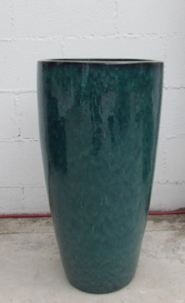 Roja planter in indigo rain