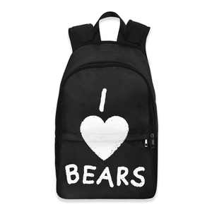 I Love Bears Backpack