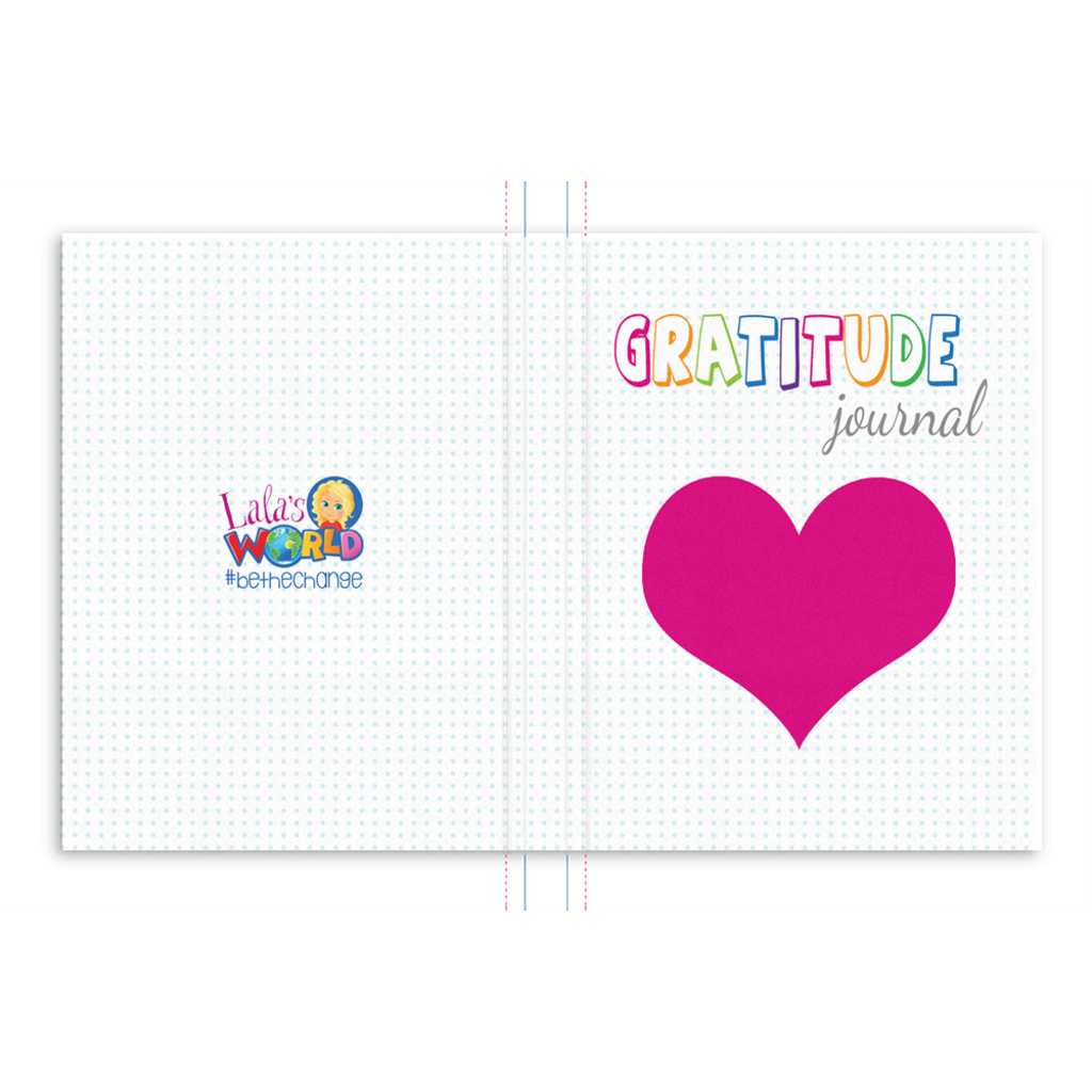 Gratitude Journal for Kids | LaLa's World Thank You Journal | Abundance Journal | Cute Notebook for Kids