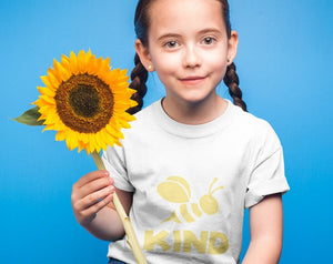 Bee Kind T-Shirt For Kids