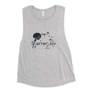 Scatter Joy Ladies' Yoga Tank Top