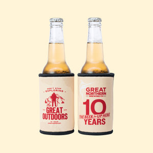 10th Birthday Stubby Holder – Explorer