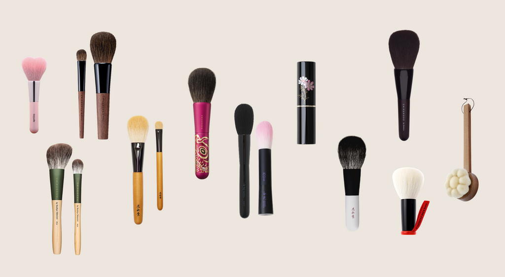 WHAT MAKES JAPANESE FUDE MAKEUP BRUSHES SPECIAL?