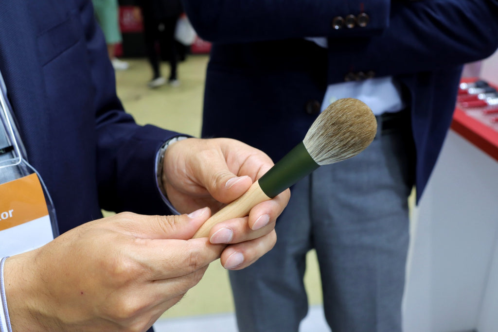 How much shedding is normal for makeup brushes?