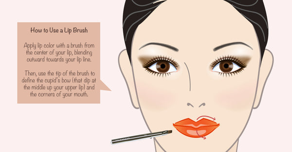 How to use a Lip Brush