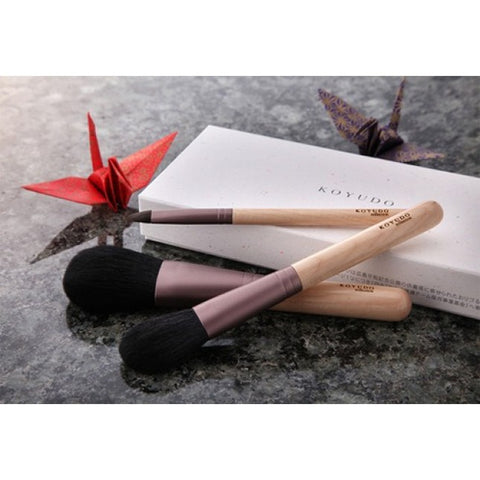 Koyudo Mizume-Zakura makeup brush set