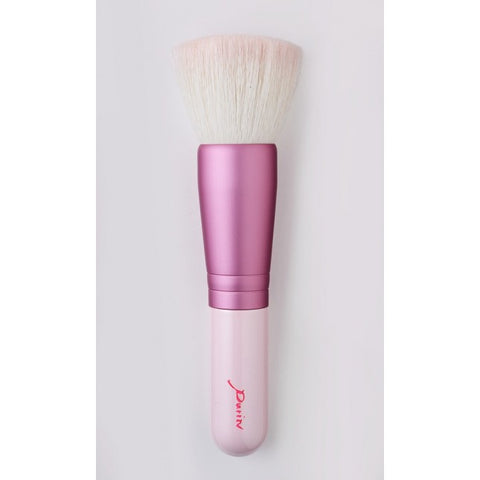 Description of Series: Fun to hold, but one of the best makeup brushes for those who favor liquid. Made from a mix of goat hair and polyester.