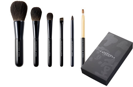chikuhodo z-series makeup brushes 6 set