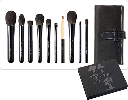 chikuhodo z-series set 8 makeup brushes