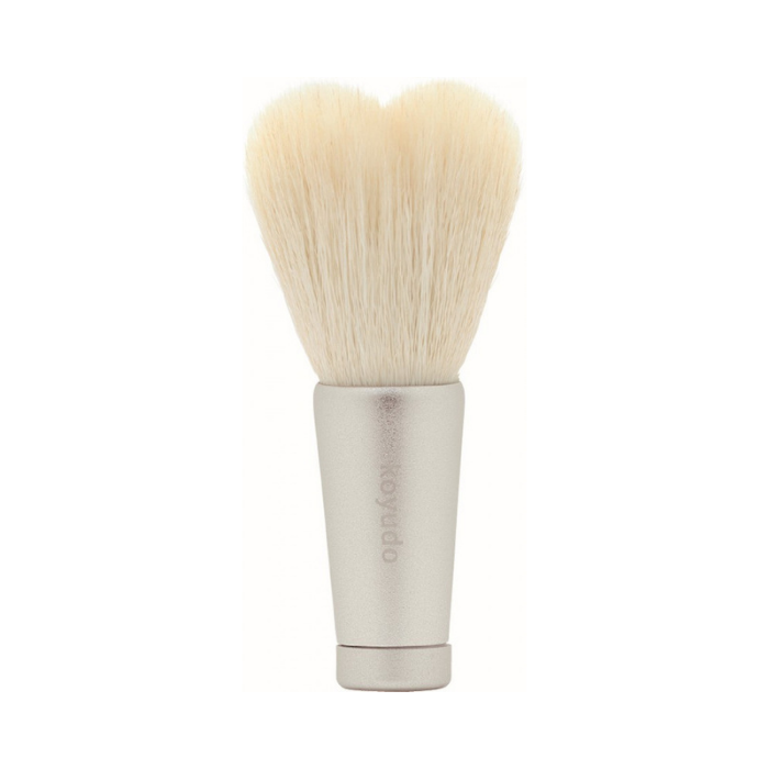 Koyudo HW-08 Heart-Shaped Face Wash Brush (White/Silver)