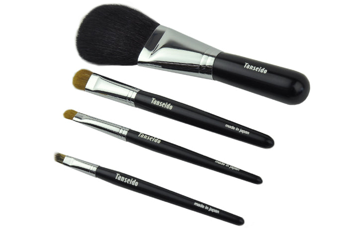 Tanseido 4-Brush Shikkari Set