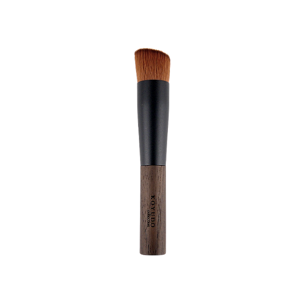 Koyudo Somell Garden Hazel Foundation Brush, Kinomi Series