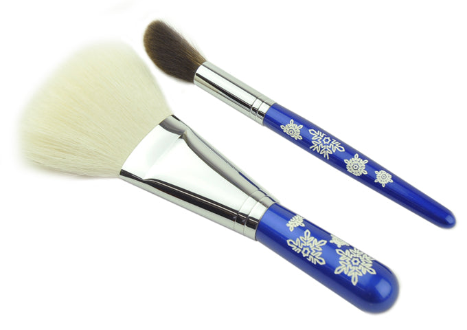 Tanseido 2-Brush Snowflake Set