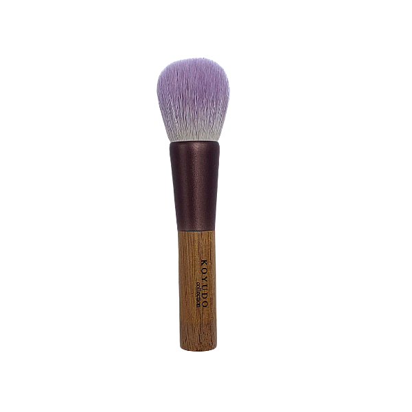 Koyudo Somell Garden Blueberry x Walnut Highlighter Brush, Kinomi Series