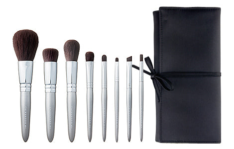 Chikuhodo S-AF Synthetic-bristle Brushes 8-piece Set, AF Series
