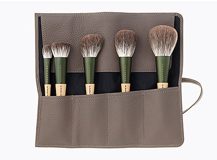 Chikuhodo S-FO Silver Fox Makeup Brush Set-Fude Beauty