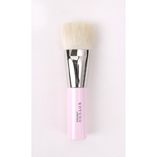Koyudo fu-pa08-p Small Foundation & Shading Brush, fu-pa Series pink (S)-Fude Beauty