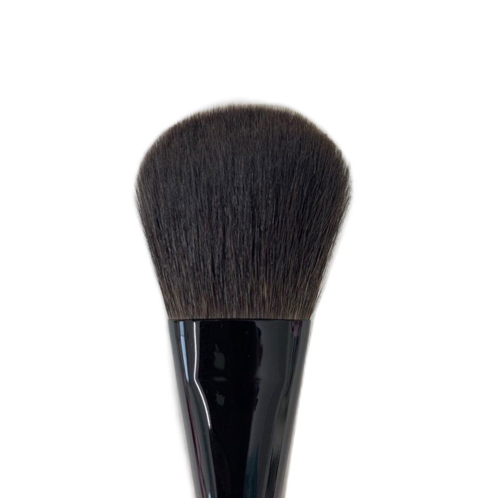Koyudo Gray Squirrel Face Brush Sakura Black