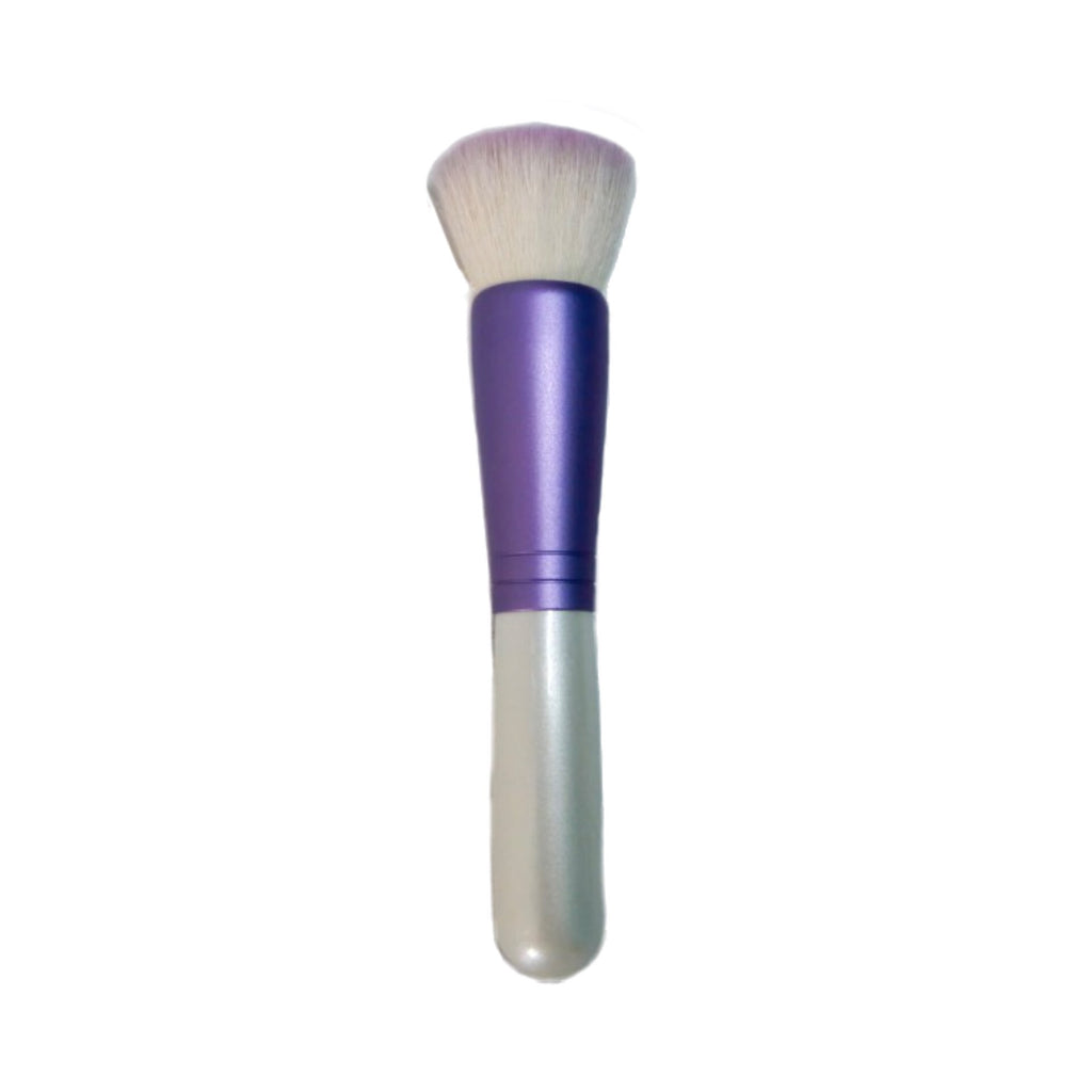 Koyudo flat-shaped cheek brush (goat hair blend)