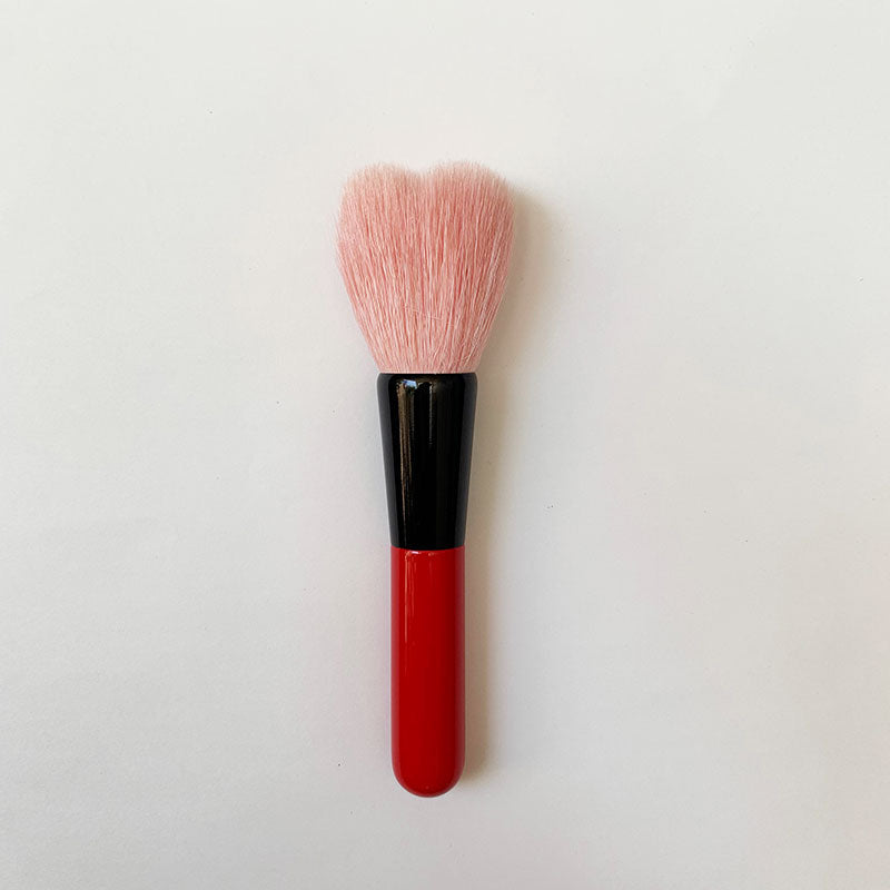 Koyudo Heart Cheek Brush (Red Handle)