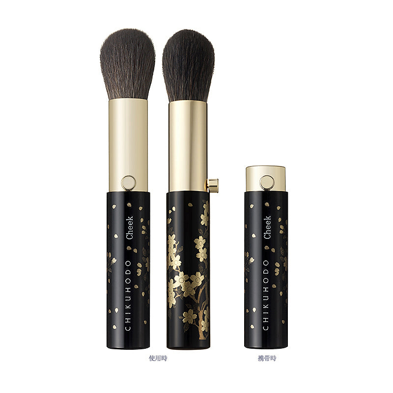 Chikuhodo BR-8 Makie portable brushes 3-piece Gift set-Fude Beauty