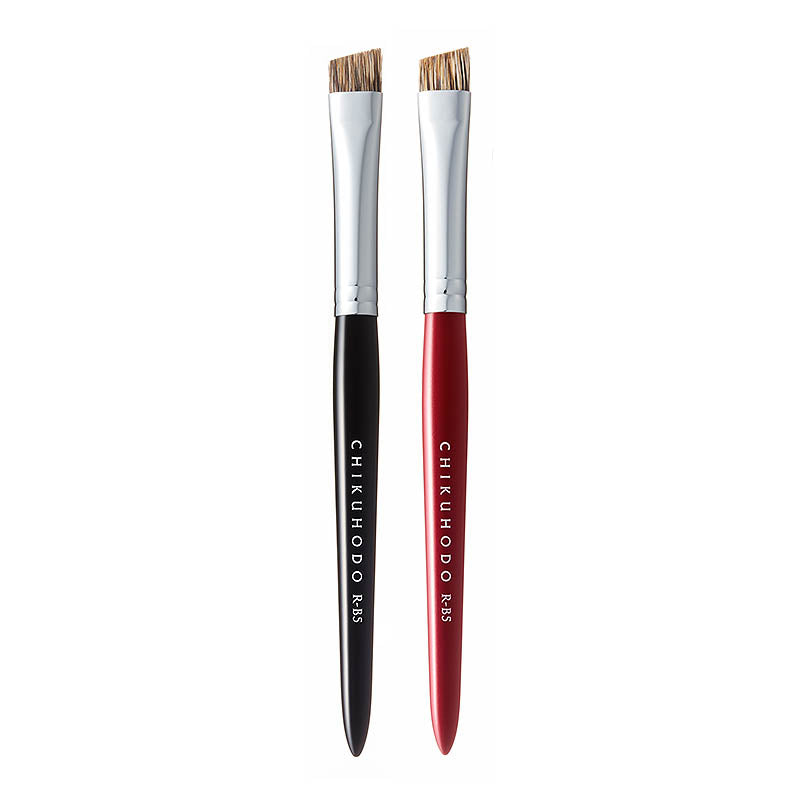Chikuhodo Brow Brush, Regular Series (R-B5 Black, RR-B5 Red)