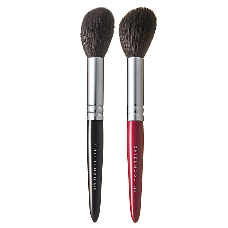 Chikuhodo Highlight Brush, Regular Series (R-H1 Black, RR-H1 Red)