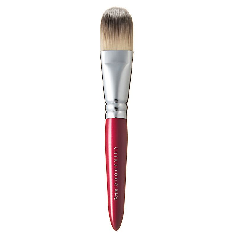 Chikuhodo Liquid Brush, Regular Series (R-LQ4 Black, RR-LQ4 Red)