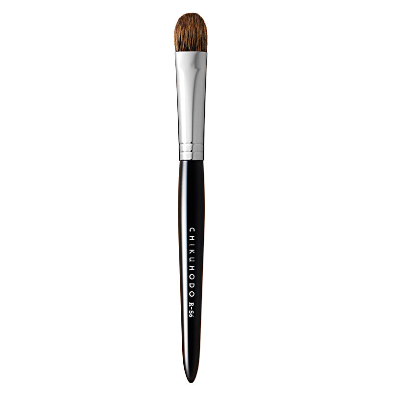 Chikuhodo Eyeshadow Brush, Regular Series (R-S6 Black, RR-S6 Red)