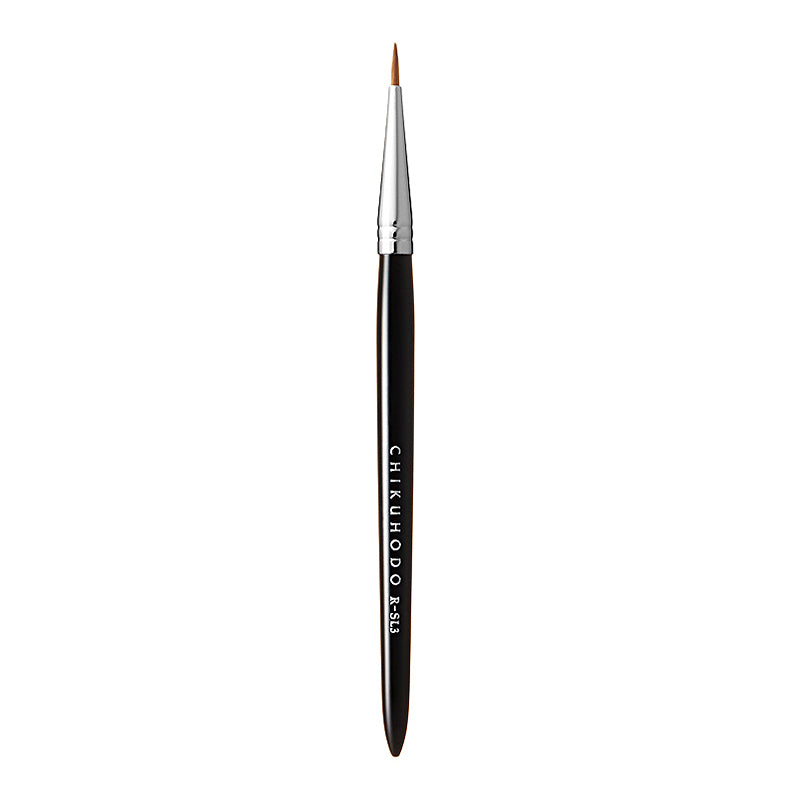 Chikuhodo Eye-Liner Brush, Regular Series (RR-SL3 Black, R-SL3 Red)