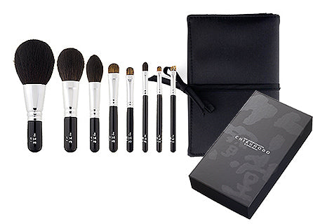 Chikuhodo BP-Series 8-piece Brush Set (S-BP)-Fude Beauty