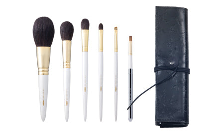 Chikuhodo GSN-Series 6-Piece Brush Set-Fude Beauty