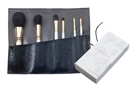 Chikuhodo GSN-Series 6-Piece Brush Set