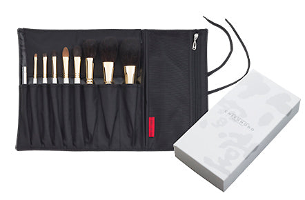 Chikuhodo GSN-Series 9-Piece Brush Set-Fude Beauty